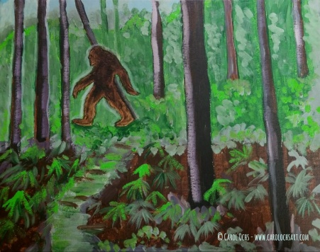 bigfoot sasquatch art